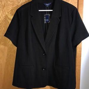 Reitmans Short Sleeve Dress Jacket